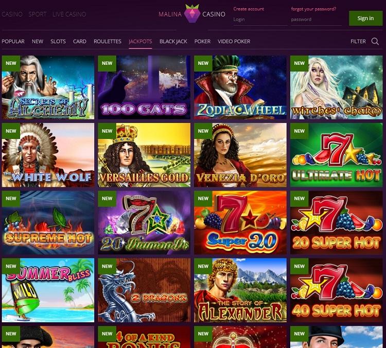 Malina Casino pic 2