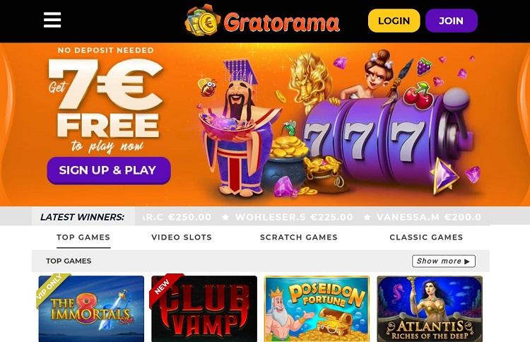 Gratorama casino pic 1